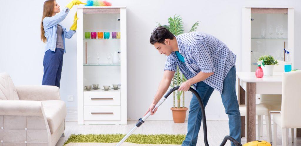 Cuidados de limpeza para a casa em cada estação